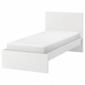 МАЛЬМ Каркас кровати, высокий,белый