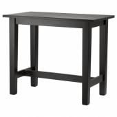 СТУРНЭС Барный стол,коричнево-чёрный